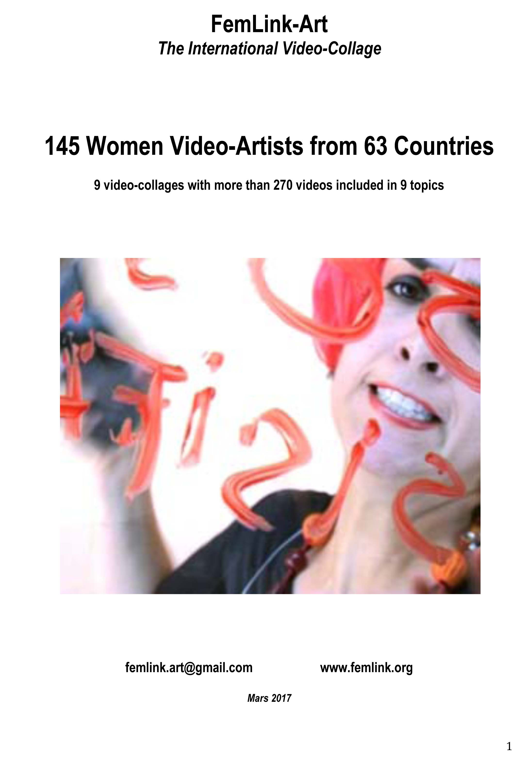 145 Women Video-Artists from 63 Countries